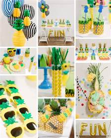 Candy Containers For Favors Pineapple Party Zurchers