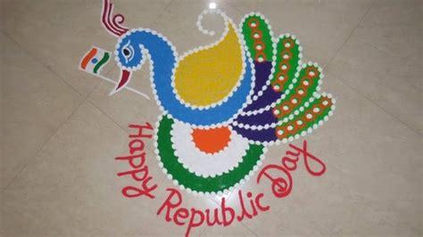 rangoli themes for republic day photos republic day 2018 13 tricolour rangoli ideas