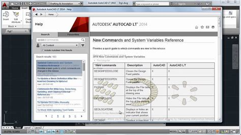 tutorial of autocad 2014 autocad lt 2014 tutorial getting started help youtube