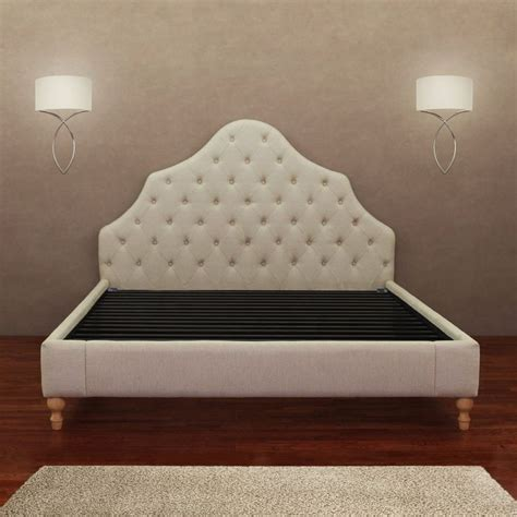 Alice Button Tufted Queen Bed Frame Bedrooms Tufted Bed And The Grey