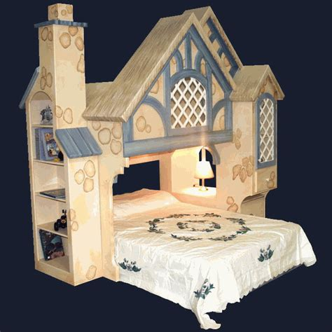 Snow White Cottage Dollhouse by House Bunk Bed Diy Wood Pallets Tree House Bunk Bed This