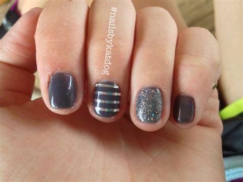easy nail art with gelish grises con plata u 241 as gelish pinterest nailart and nails