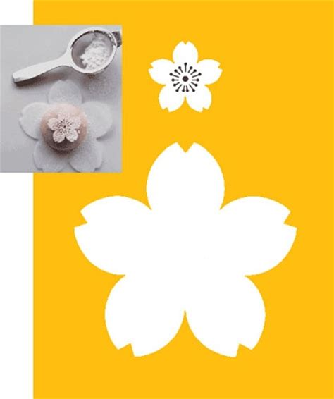 blossom template flower stencil studio design gallery best design