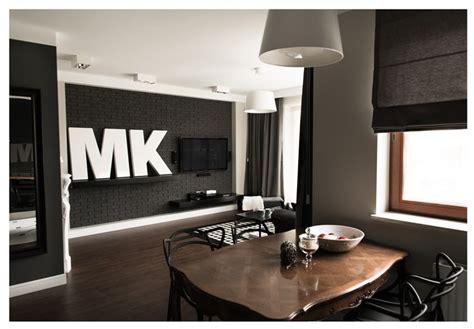 interiores de  departamento en blanco  negro