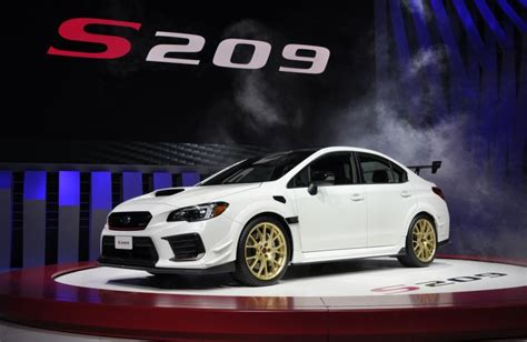 Subaru Wrx Sti 2020 Engine by 2020 Subaru Wrx Sti S209 Finally Gives Fans What They Want