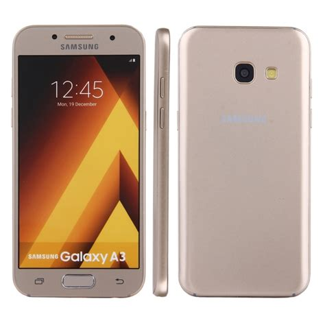 Ultrathin Samsung Galaxy A3 2017 A320 Softcasesilikonsoftcover for samsung galaxy a3 2017 a320 color screen non working dummy display model gold