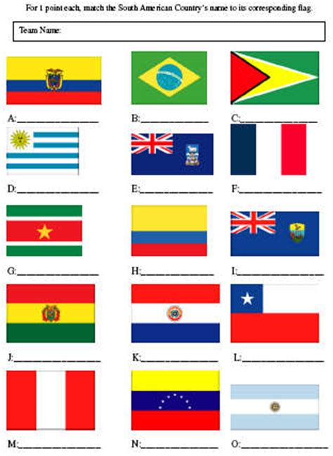 picture quiz south american flags pauls free quiz