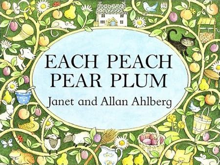 each peach pear plum b00cbn6b9s each peach pear plum cover rarest kind of best