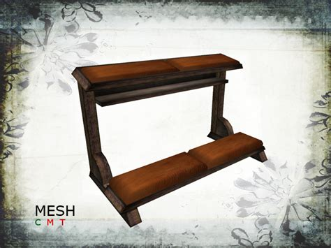 prayer benches second life marketplace mesh kneeler prayer bench