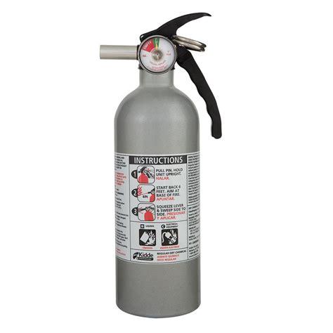 kidde 5 b c automobile powder extinguisher