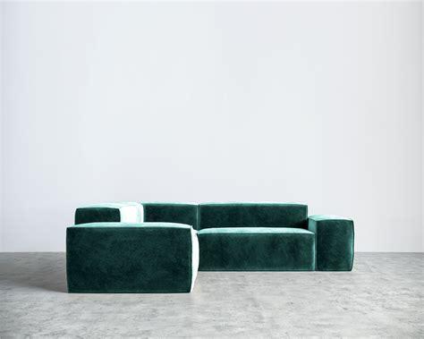 Modern Velvet Sofa Studio Modern Sofa Royal Blue Velvet Velvet Sofas Sectionals