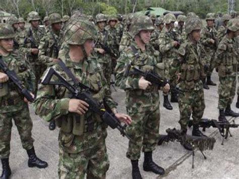 sueldos militares colombia cientos de militares colombianos condenados a prisi 243 n