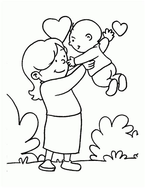 happy mothers day pictures to color 442462