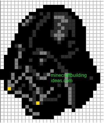 wars pixel templates minecraft pixel templates darth vader