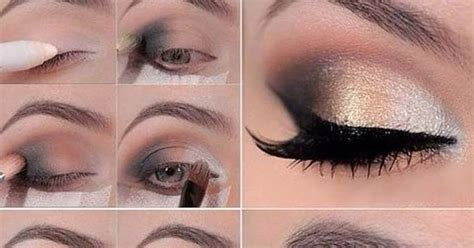 tutorial makeup casual casual glitter eyemakeup tutorial b g fashion