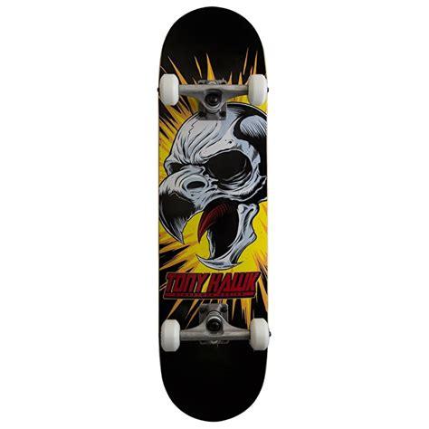 Skatebord Tonyhawk Bekas tony hawk 360 series skateboard screaming hawk black 8