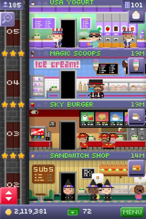 tiny tower calls you back to work with new missions gifts