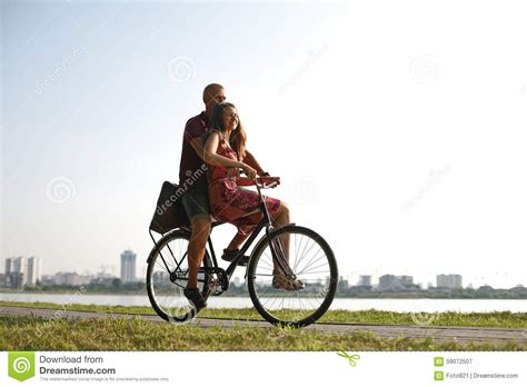 on a bike in on a bicycle stock photo image 59072507
