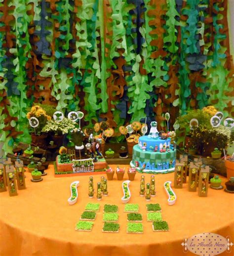 Plants Vs Zombies Birthday Decorations by Plants Vs Zombies Birthday Ideas Photo 1 Of 15