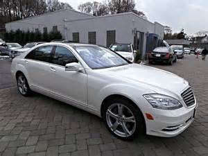 Mercedes 2013 S550 2013 Mercedes S550 4matic Sedan White