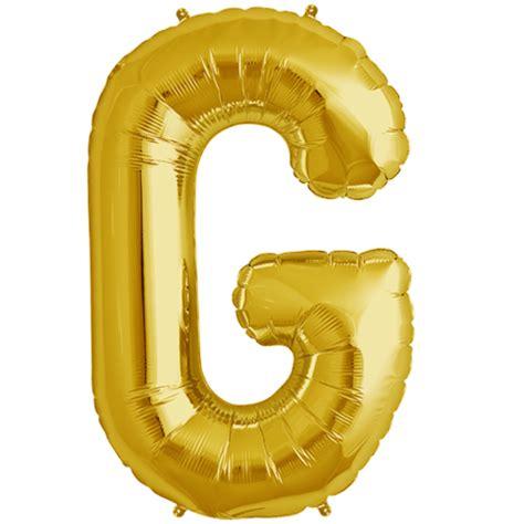 Balloon Letter G