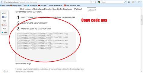 membuat virus facebook membuat kode chat facebook dengan gambar sendiri