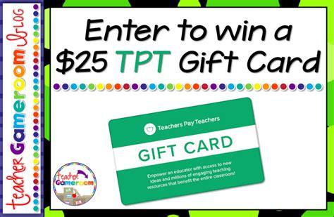Tpt Gift Card - blog