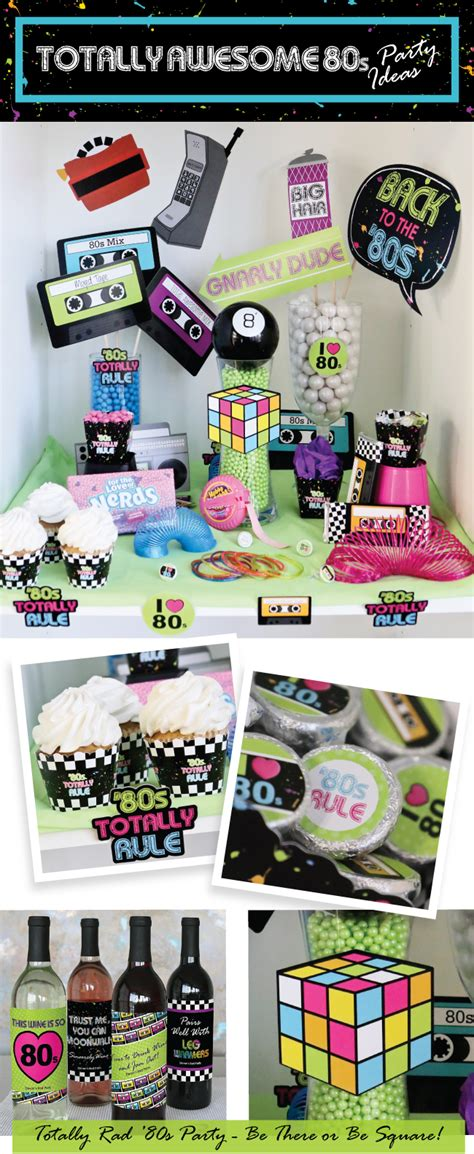 80s Supplies by Totally Rad 80s Retro 1980s Supplies