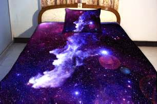 Bed Sheets Etsy Galaxy Bedding Set Two Sides Printing Galaxy By Tbedding