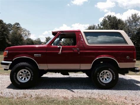 how to work on cars 1988 ford bronco ii parental controls 1988 ford bronco eddie bauer editon 4x4 for sale photos technical specifications description