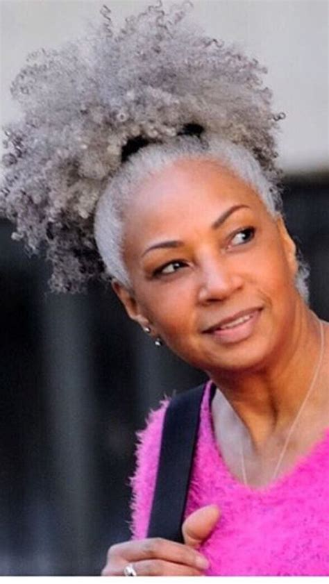 different sized women with gray hair with low light styles silver fox simply gorg hair style pinterest