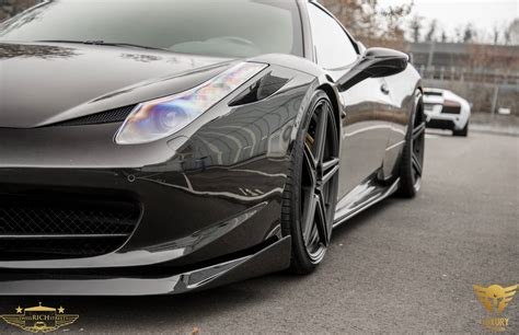 ferrari 458 custom black on black ferrari 458 italia by luxury custom
