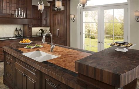 Countertops Options by Diy Butcher Block Countertops For Stunning Kitchen Look