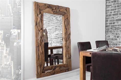 Garderobe Teak 742 by Spiegel Altholz Rahmen Wandspiegel Ma 223 E 160x100 Cm