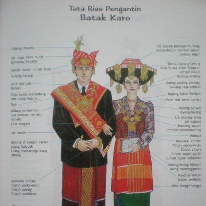 Baju Adat Suku Batak Karo batak pakaian adat suku bangsa batak