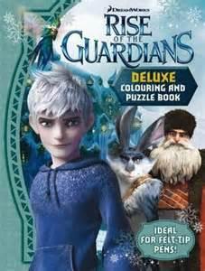 booktopia rise guardians deluxe colouring puzzle book mile press
