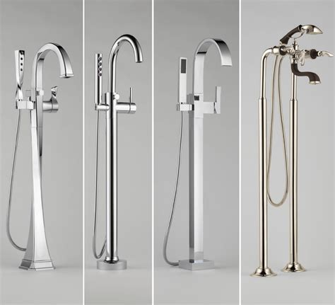 brizo tub fillers freestanding bathroom images frompo