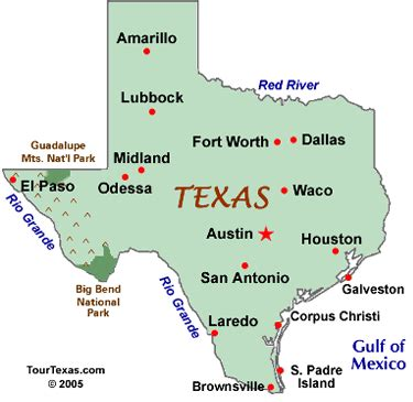 texas map showing cities map of texas cities tour texas