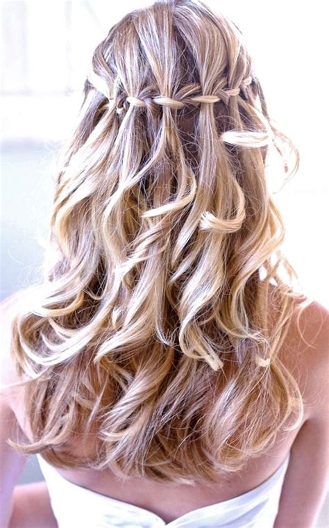 braided half up waterfall kids hair ideas pinterest 17 best images about a winter wedding on pinterest