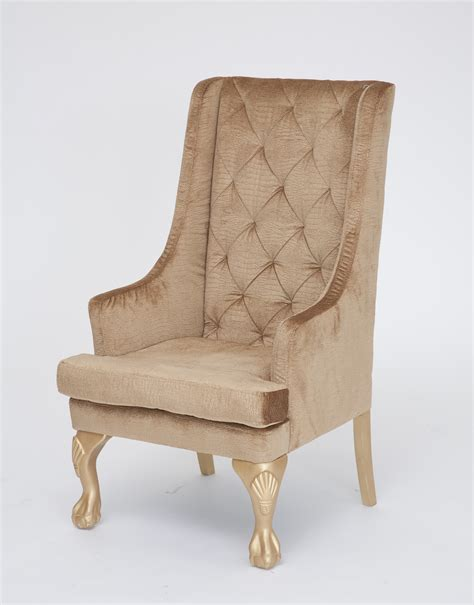 Ideas For Wingback Chairs Design Gold High Back Wing Chair N 252 Age Designs