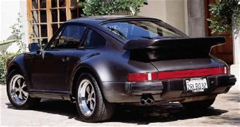 1986 1989 porsche 911 turbo pictures and specifications