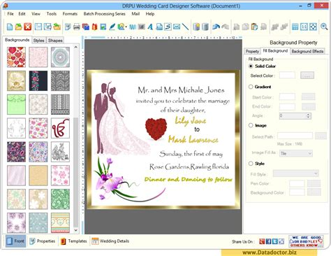 how to design software wedding card designing software design beautiful