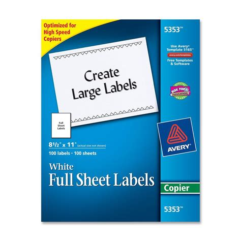 avery copier mailing label ld products