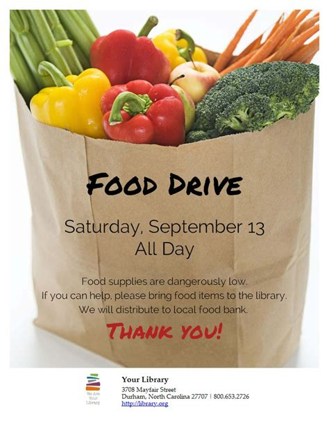 9 Best Canned Food Drive Images On Pinterest Food Bank Food Drive Template Free