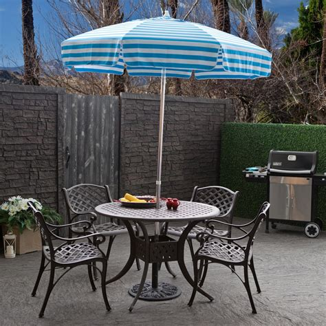 Patio Set Umbrella Outdoor Patio Furniture With Umbrella Home Design Ideas And Pictures