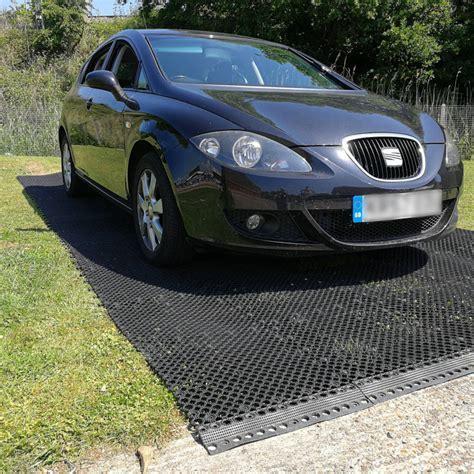 ParkMat? Grass Protection Parking Mat 50cm (Black)   Soft