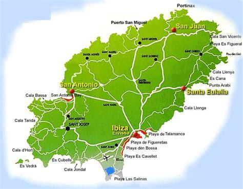autonoleggio formentera porto mappe di ibiza e formentera visualizza le mappe