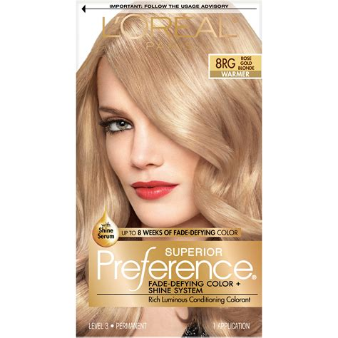 loreal preference hair color l oreal l oreal preference couture hair color