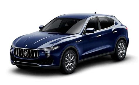 maserati levante blue maserati levante price in india images mileage features