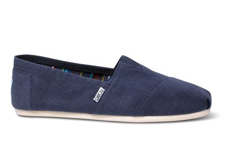 Toms Shoes Gift Card - navy canvas men s classics toms 174